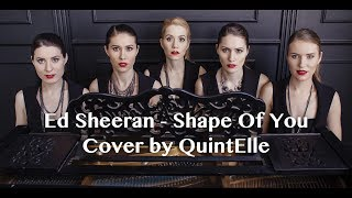 Ed Sheeran - Shape Of You (cover by Quintelle - Violin, Viola, Cello, Harp, Piano)