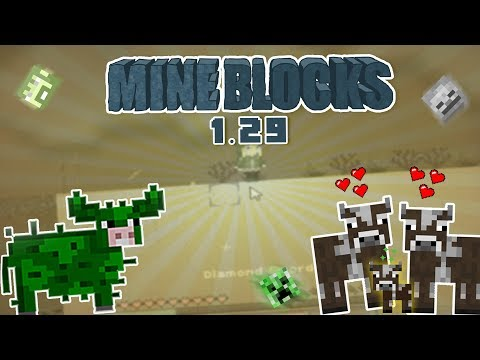 Mine Blocks 1.29-New Update!