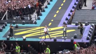 One Direction - Where Do Broken Hearts Go + Midnight Memories Brussels 13/06