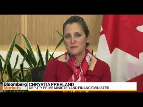 Minister Freeland calling on Canadians for ideas on how to 'unlock the pre-loaded stimulus'