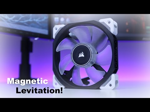 Corsair ML120 Pro Led Review Magnetic Levitation Fan? With SP120 and AF120 led comparsion