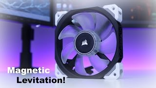 corsair ml120 pro led review magnetic levitation fan with sp120 and af120 led comparsion