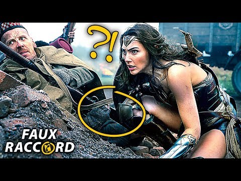Top 10 Editing MISTAKES in WONDER WOMAN  (Movie Mistakes)