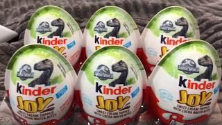 Jurassic World Kinder Eggs surprise - Kinder Jurassic World Fallen Kingdom Toys - Ankylosaurus