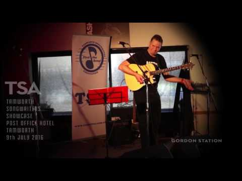 Gordon Station performs original songs Post Office Hotel Tamworth NSW