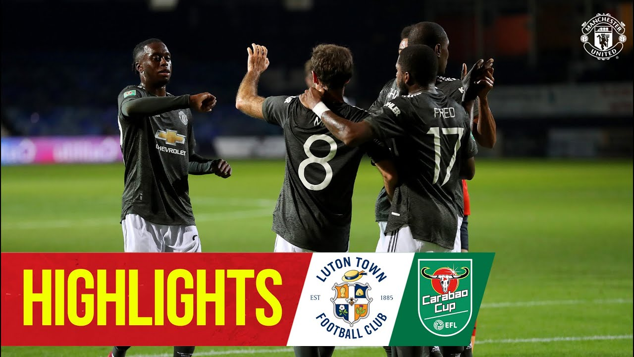 Highlights | Luton 0-3 Manchester United | Mata, Rashford & Greenwood seal Carabao Cup win at Lu
