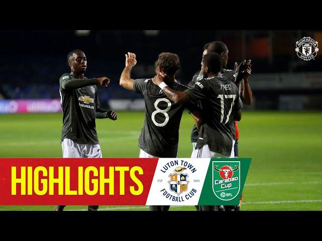 Highlights | Luton 0-3 Manchester United | Mata, Rashford & Greenwood seal Carabao Cup win at Luton