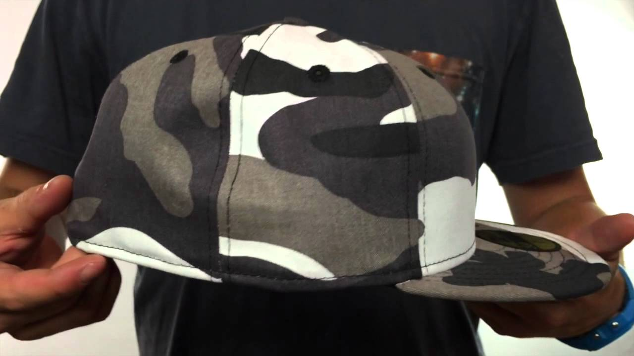 New Era  59FIFTY-BLANK  Urban Camo Fitted Hat - YouTube bef82413c0d0