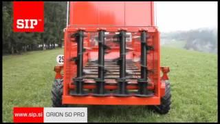 SIP ORION 50 PRO- rozrzutnik obornika
