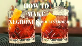 Negroni and Boulevardier - H๐w To Make