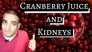 Cranberry Juice and Kidneys | Your Kidneys Your Health | @qasimbuttmd