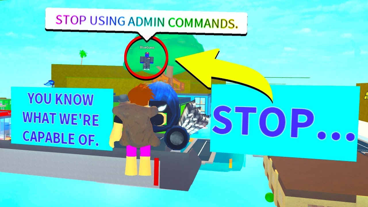 Blue Guest Finds Us Mid Video Roblox Youtube