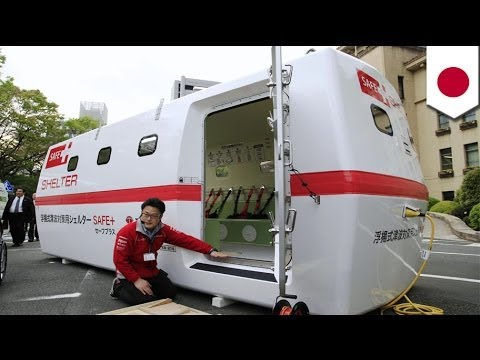 Japan's Tajima Motor Company unveils Tsunami Floating Shelter SAFE+ survival pod