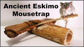 Ancient Eskimo Mouse Trap. Mousetrap Monday