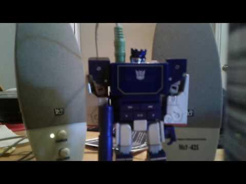 Transformers Music Label Soundwave demo.