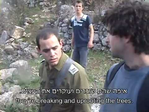 IDF Officer refuses to to uphold Geneva Conventions