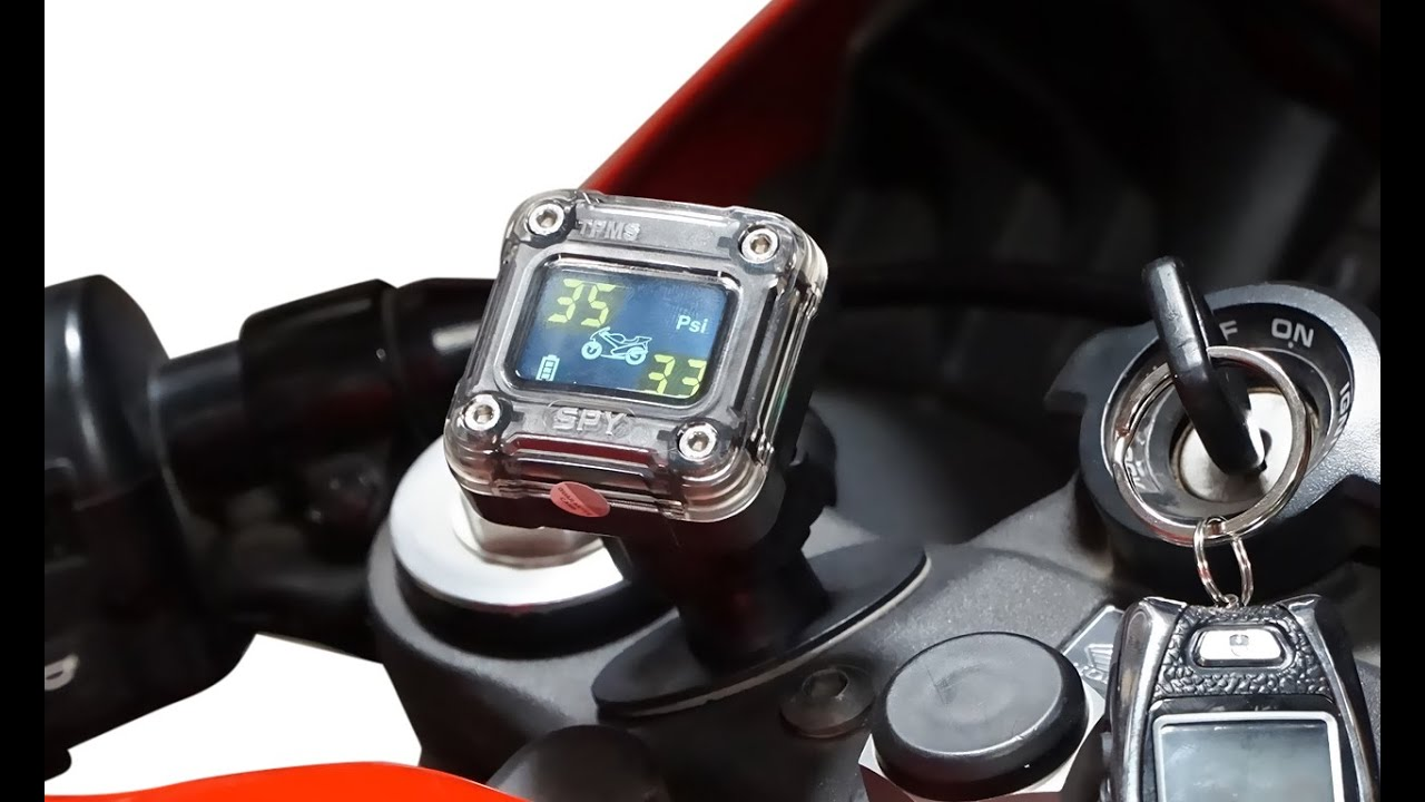 Genssi Motorcycle Tpms Tire Pressure Monitoring System