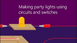 Party Lights! A Microsoft Hacking STEM Lesson plan.