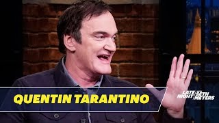 Quentin Tarantino Reveals the Real-Life Inspiration for Once Upon a Time in Hollywood