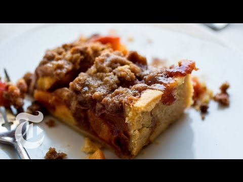 Peach Crumble Slab Pie | Melissa Clark Recipes | The New York Times