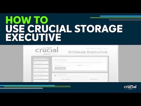 Crucial Storage Executive Tool | Firmware Download | Crucial com