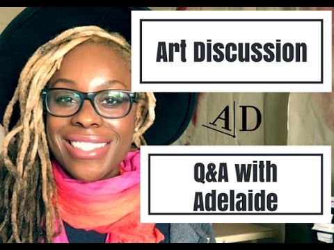 Q & A with Adelaide Damoah: Art Discussion