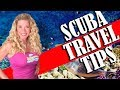 SCUBA diving travel tips and Checklist (2018)
