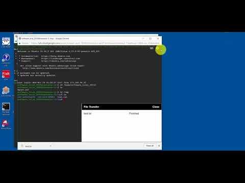 Upload Files to Google Cloud Server