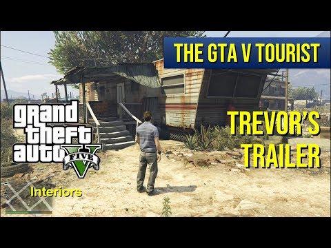 The GTA V Tourist: Trevor's Trailer - dirty vs clean - 60 fps version