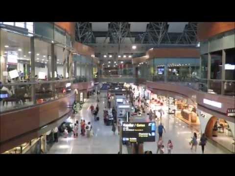Inside Istanbul Sabiha Gokcen International Airport (SAW), Turkey