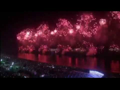 RIO COPACABANA   BRASIL FIREWORKS 2018   New Year's Eve
