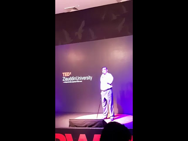 Chairman Ziauddin Dr. Asim Hussain inaugurates TEDx at ZU