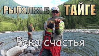 РЕКА ЗАБИТАЯ РЫБОЙ/Это Вам не щук по заливам гонять/Горная рыбалка в дебрях Сибирской тайги #2