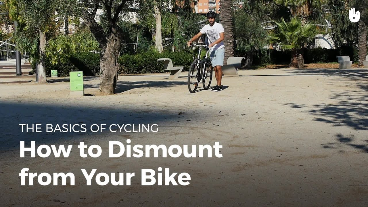 How to Dismount from a Bicycle