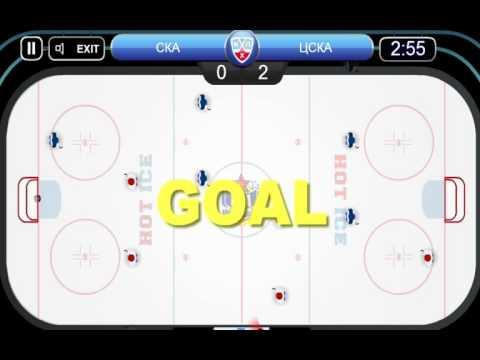 Флеш игры  #Настольный хоккей