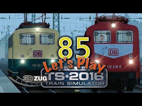 Train Simulator 2016 - Folge 85 - 3DZug Reisezeit Aufgabe 1 - vR BR110 - Koblenz nach Trier