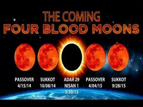 THE COMING FOUR BLOOD MOONS APR 15 20142015 CRITICAL