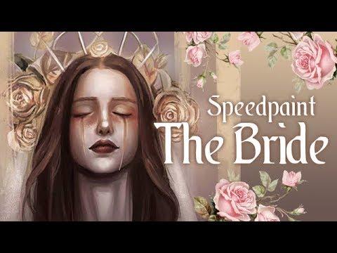 "[Speedpaint] ""The Bride"" - Photoshop Digital Painting"