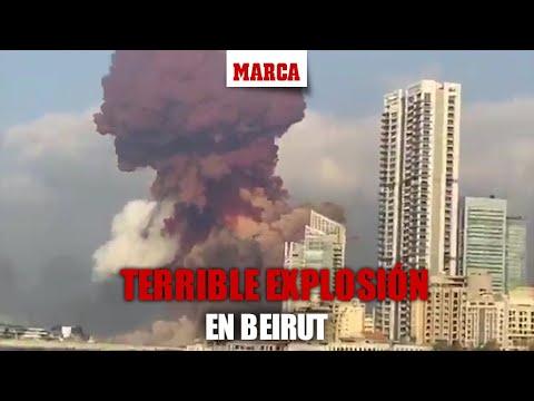 Explosionen.