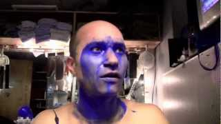 Vida de Blue Man