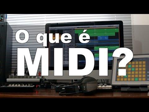 O que é MIDI? Aula curso Tecnologia MIDI em Português