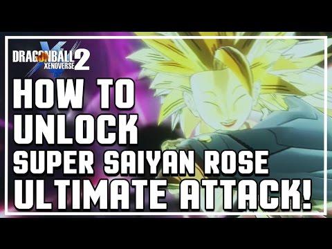 Dragon Ball Xenoverse 2 - How to unlock Super Black Kamehameha Rose (Super Saiyan Rose Ultimate)