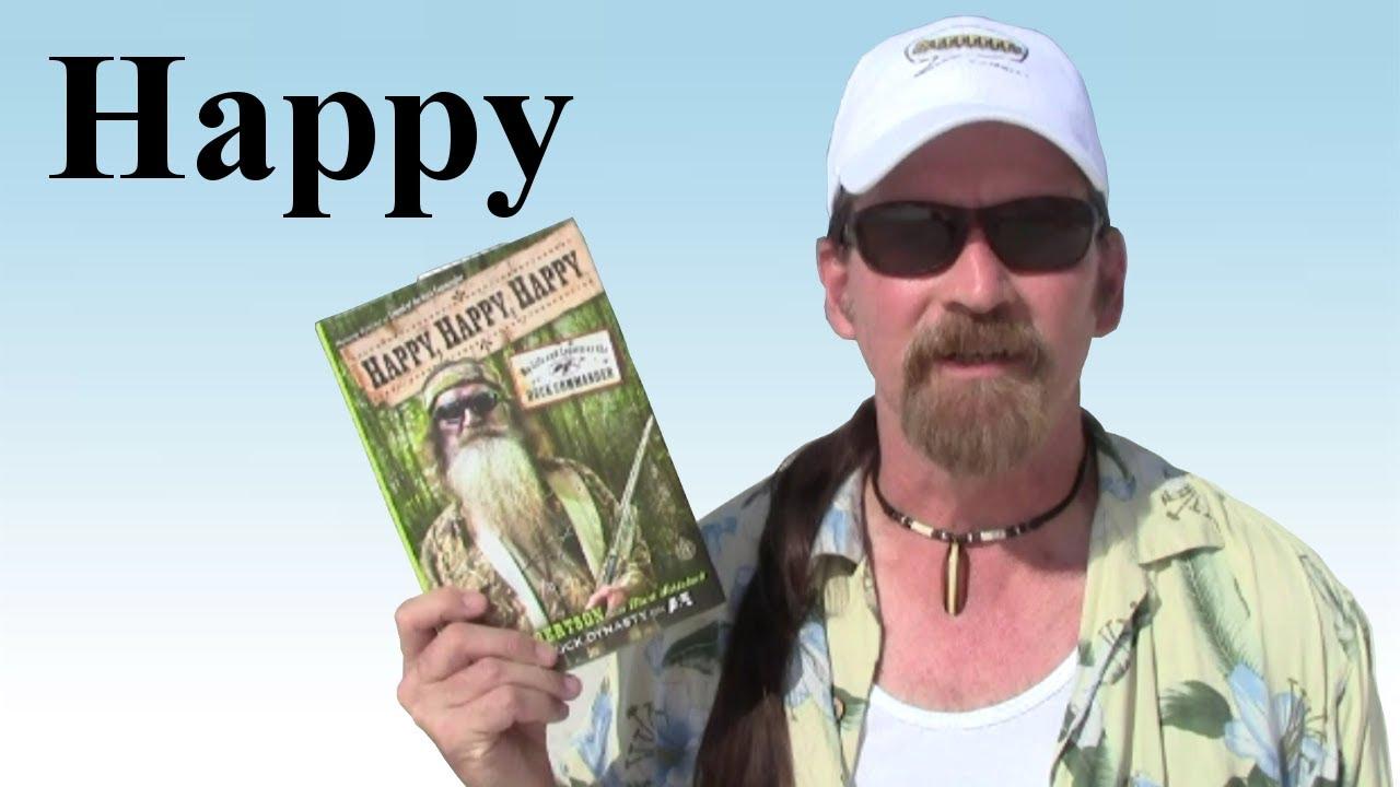 Phil Robertson Thumbs Up Happy Happy Happy