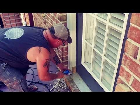 How to fix a rotted exterior door frame