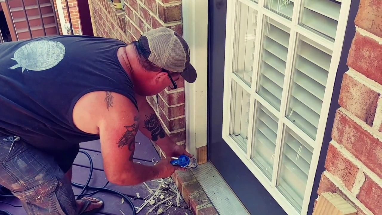 How to fix a rotted exterior door frame youtube - How to repair a rotted exterior door frame ...