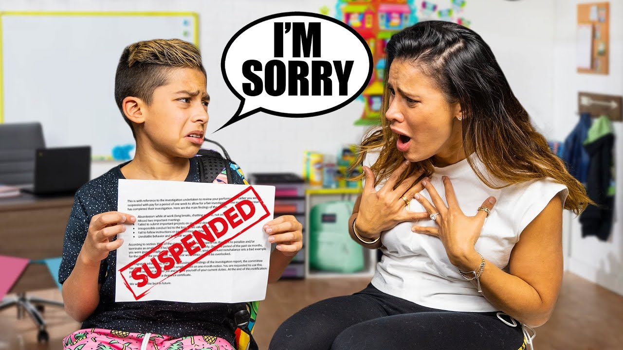 Download Telling My Parent's i Got SUSPENDED From SCHOOL!! | The Royalty Family
