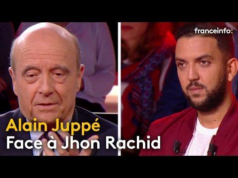 Alain Juppé face à Jhon Rachid
