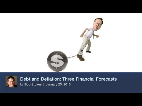 Debt and Deflation: Three Financial Forecasts
