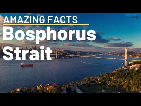 Bosphorus Strait Istanbul - Amazing facts