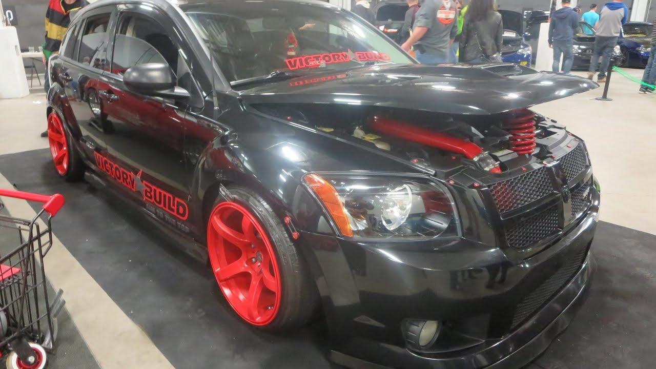 2008 Dodge Caliber Srt4 Custom At 2014 Megaspeed Car Show